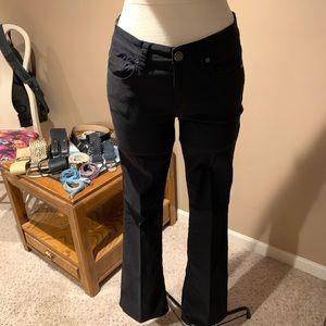Calvin Klein Jeans Black stretch bootcut 5 pockets
